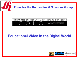 Films for the Humanities & Sciences Group