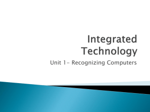 Integrated Technology Chapter 1