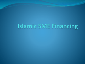 Islamic SMEs Part I - State Bank of Pakistan