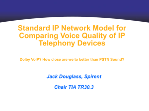Dolby VoIP? How close are we to better than PSTN Sound?