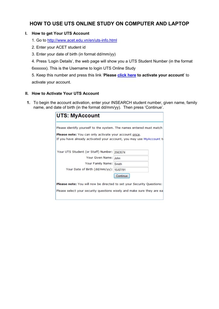 uts assignment cover sheet business