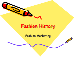 Fashion History - MsCourtneyCarter