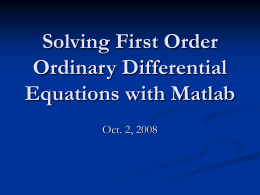 Solve_1st_Order_ODE_with_Matlab