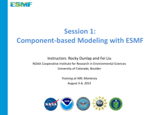 Overview of ESMF and Component