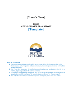 2014/15 Annual Report Template