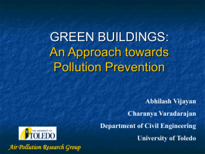 An Approach towards Pollution Prevention