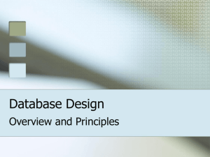 Database Design - Seattle Central College