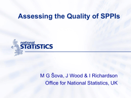 Difficulties in the Estimation and Quality Assessment of Service