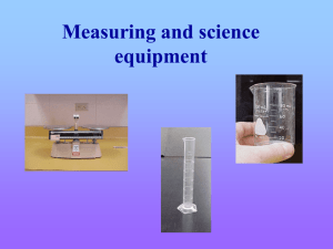 MeasuringandScienceEquipment