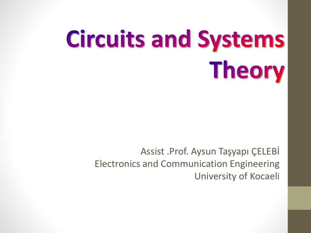 13 The Source Free Series Rlc Circuits Dc Help Solving A 2ndorder Circuit Electrical Engineering