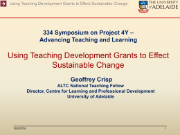 Link to presentation - Transforming Assessment