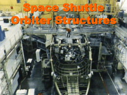 Space Shuttle Structures