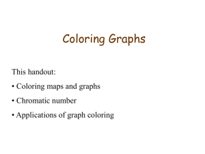 Powerpoint slides on Graph coloring