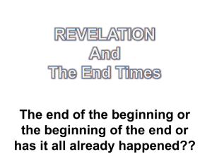 Revelation has largely been fulfilled and has reference in particular