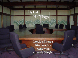 Dykal Holdings