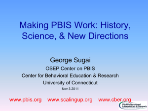 History, Science, and New Directions