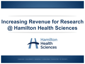 Strategic Focus of HHS Research