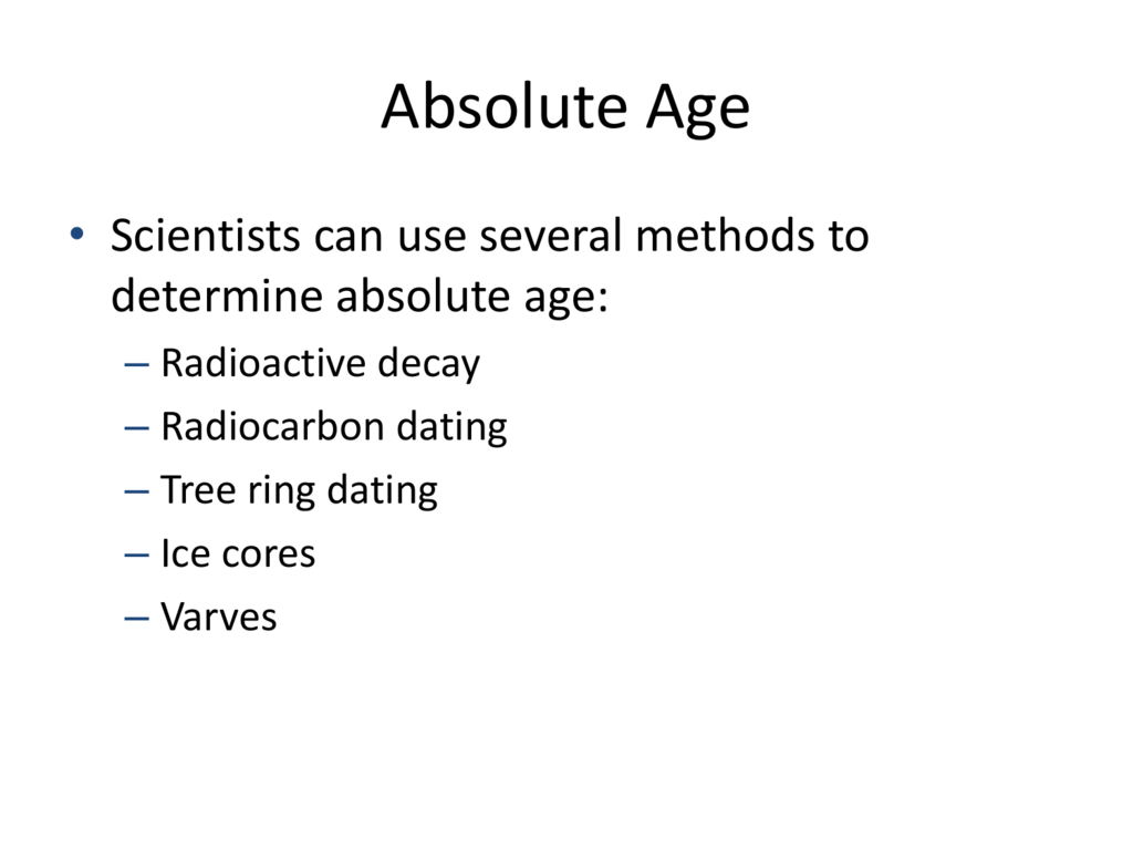 How to use carbon dating to determine age
