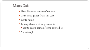 Maps Quiz - Mr. Evans' Website