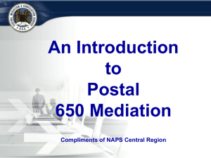 Mediation 650 Training Powerpoint
