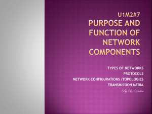 7 components of a network