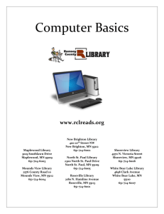 Computer Basics - Ramsey County Libraries