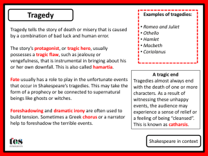 Shakespeare in context_Genres