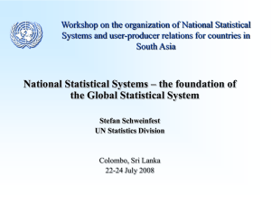 National Statistical Systems