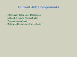 Network Systems Administrator Annual Review