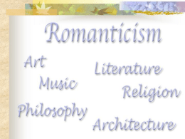 romanticism art part1