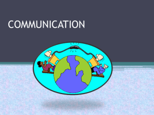 Communications PowerPoint