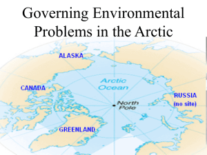 Governing Environmental Problems in the Arctic