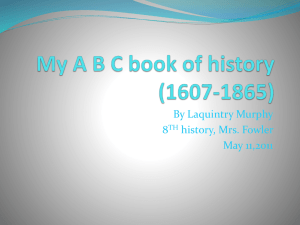 My ABC book of history (1607-1865)