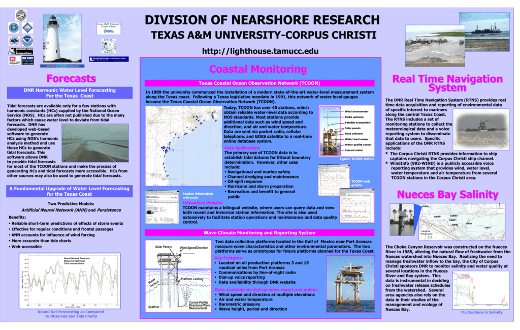 Dnr Poster Division Of Nearshore Research
