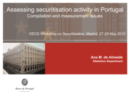 Portuguese securitisations in numbers Holders of securities