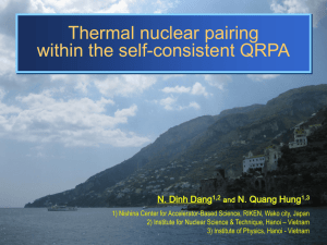 Thermal Nuclear Pairing within the Selfconsistent Quasiparticle RPA