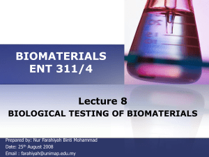 Biomaterial_Lecture 8