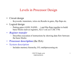 Levels in computer design