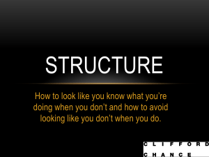 How to Structure Your Speech