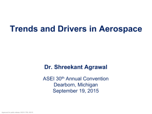 Trends and Drivers in Aerospace By Dr. Shreekant Agrawal