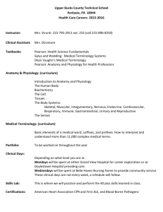 2015-16 Syllabus - Upper Bucks County Technical School