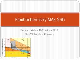 Pourbaix diagram stability diagram electrochemistry mae 212 ccuart Images