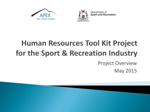 HR Tool Kit Project Process