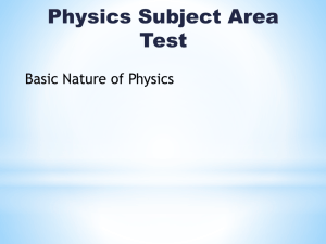 PHYSICS SAE 2