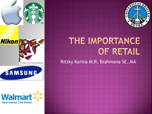 The Importance of Retail - marketing apprentice zone