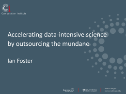 Presentation Slides - Data Science Research Center