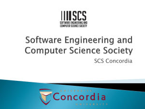 Software Engineering and Computer Science Society