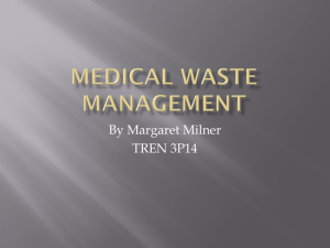 Medical Waste Management