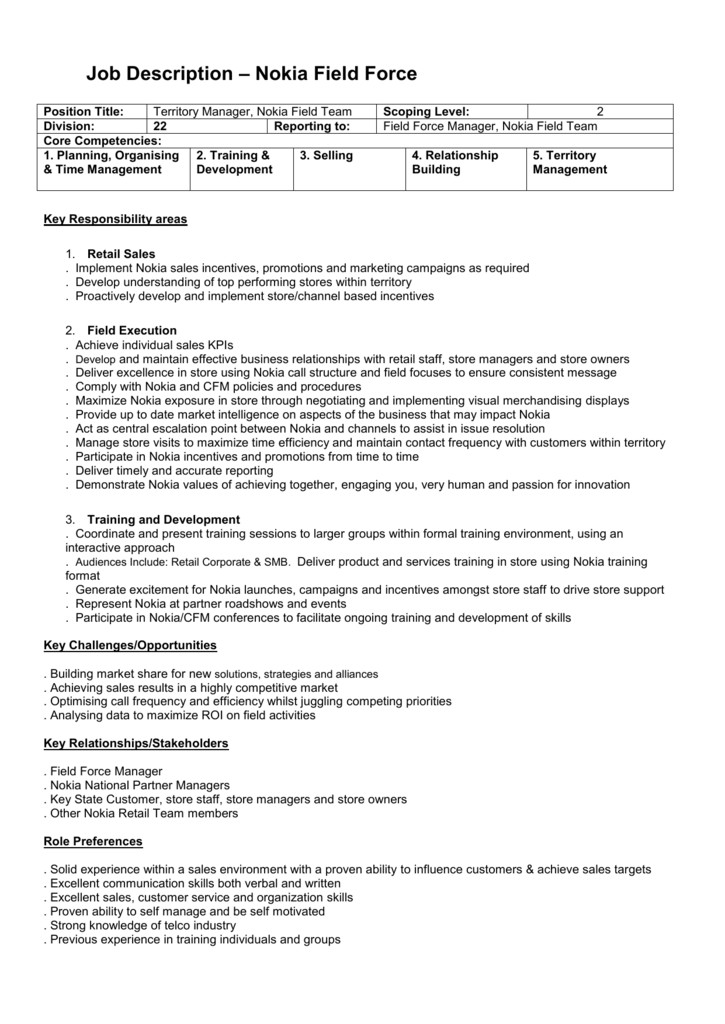 customer service trainer job description