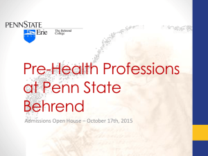 Open House Presentation - Prehealth
